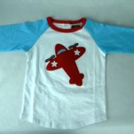 Toddler Boy Airplane Shirt Small