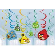 Danglers-Swirl-Angry Birds-6pk (Discontinued)