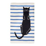 Oeuf Cat Rug - White/Multi