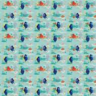 Finding Dory Gift Wrap (76.2cm X 1.52m)- 1pk