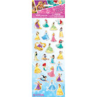 Puffy Stickers - Disney Princess