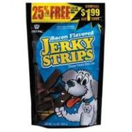 Bacon Flavored Jerky Strips