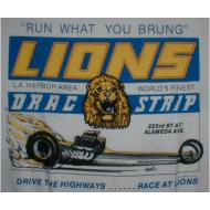 Lions Run What you Brung T-Shirt - White