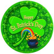 Plates- LN- Happy St Pats Day-8pk-Paper