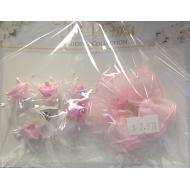 Flower Picks-Wedding Pink/White/Ivory-2pk