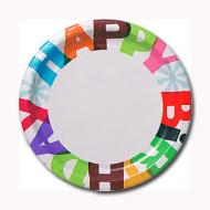 Plates-LN-The Big Day-8pk-Paper - Discontinued