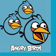 Napkins-BEV-Angry Birds-16pk-2ply - Discontinued