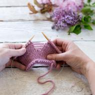 April Fixing Basic Knitting Mistakes Class