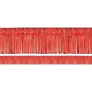 Garland-Fringe-Metallic-Red-20' x 15''