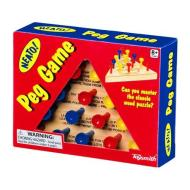 Wooden Peg Game