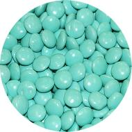 Candy-Turquoise Chocolate Gems (500g)