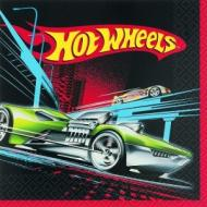 Napkins-LN-Hot Wheels-16pk-2ply - Discontinued