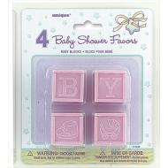 Baby Blocks-Baby Favors-Baby Blocks-4pk
