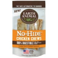 "Earth Animal No-Hide Chicken Chews 4"" 2 pack"