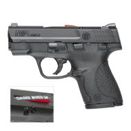 "Smith & Wesson M&P 9 Shield Pistol 187021, 9 MM, 3.1"", Polymer Grip, Black Finish, 7 Rd & 8 Rd, CA Legal"