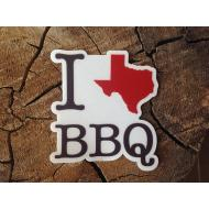 Texas BBQ Sticker