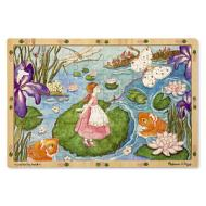 MELISSA&DOUG Lily Pad Journey  (96pc) Jigsaw Puzzle