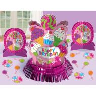 Table Decorating Kit-Sweet Shop Happy Birthday-3pkg