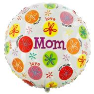 Foil Balloon - Mother's Day Messages - 18""