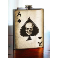 Ace of Spades Flask, 8 oz