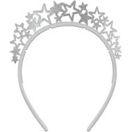 Star Headbands-Let's Party- 12Pk