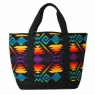 PENDLETON JACQUARD CANVAS SM TOTE Black