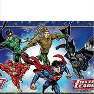 Table Cover-Justice League-Plastic-54'' x 96''