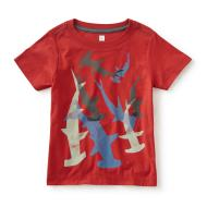 Happy Hammers Graphic Tee Cardinal Red