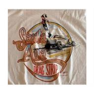 Santa Ana Drag Strip T-Shirt - White
