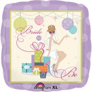 Foil Balloon - Bride To Be Shower Chic - 18""