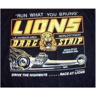 Lions Run What you Brung T-Shirt - Black
