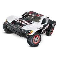 58034-2 1/10 Slash 2WD SC RTR w/On-Board White