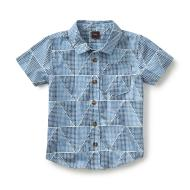 Ponti's Palace Boys Shirt Blue