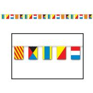 Pennant Banner-Plastic-Nautical Flags-1pkg-23ft