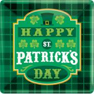 Plates-BEV-Happy St Pats Day-8pk-Paper