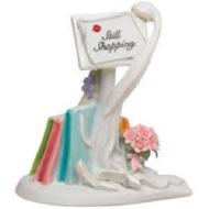 Cake Topper-Still Shopping Message Board-1pkg-10cm