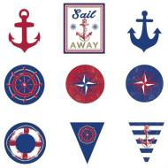 Cutouts - Nautical 12pk