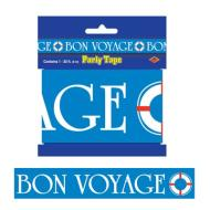 Party Tape-Plastic-Bon Voyage-1pkg-20ft