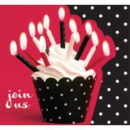 Invitations-Cupcake Party-8pkg