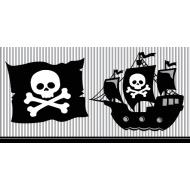Tablecover-Rectangle-Pirate Party-Plastic