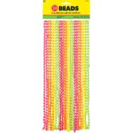 Beads Necklace Neon (24 PK)
