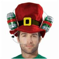 Christmas-Drinking Top Hat-Felt-10''