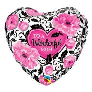 Foil Balloon - To A Wonderful Mom - 18""