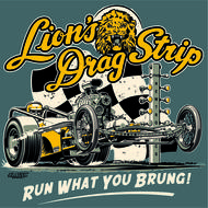 Lions Run What You Brung 2 T-Shirt - Blue