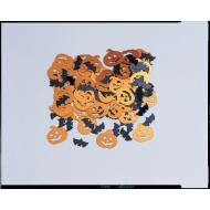 Confetti-Halloween Pumpkins and Bats-14g