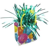 "Balloon Bag Weight-Festive Balloons-1pkg-3.25""x2.5"""
