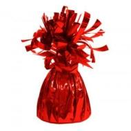 "Balloon Weight-Foil-Red-1pkg-4.5""x2.25"""