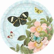 Plates-BEV-Butterfly-18pk (Discontinued)