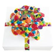 Colorful Dots Bow and Ribbon Combo