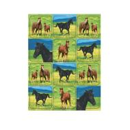 Stickers-Wild Horses-4 Sheets